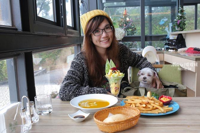 寵物友善餐廳│新竹香山美食│綠鏡景觀餐廳~景觀大道上擁有大片草皮的玻璃屋餐廳16