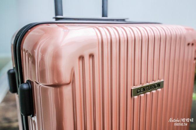 行李箱推薦│CENTURION百夫長行李箱~空姐藝人超愛的美國知名專櫃品牌。近百種顏色亮眼晶鑽鏡面設計24