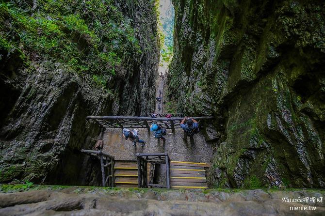 大陸張家界五天四夜│景點推薦│張家界大峽谷~世界最長玻璃橋體驗峡谷高空滑索及百米溜滑梯14