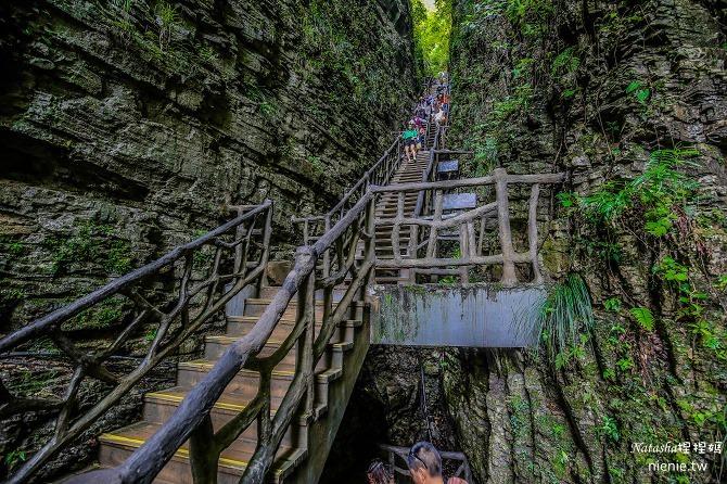 大陸張家界五天四夜│景點推薦│張家界大峽谷~世界最長玻璃橋體驗峡谷高空滑索及百米溜滑梯15