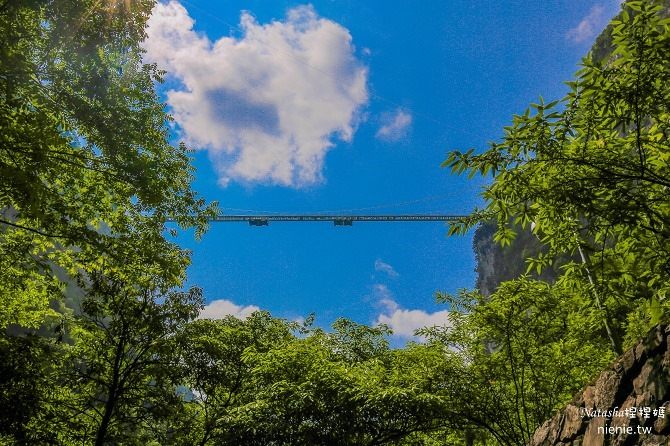 大陸張家界五天四夜│景點推薦│張家界大峽谷~世界最長玻璃橋體驗峡谷高空滑索及百米溜滑梯38