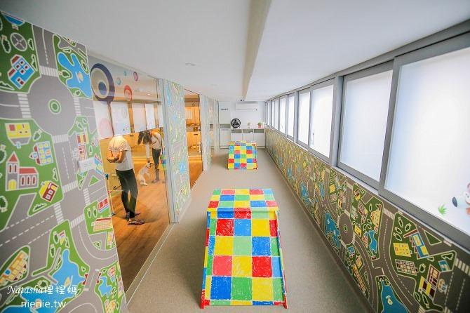 台中狗旅館-瑋特ㄚ狗生活館二樓的放風遊戲區