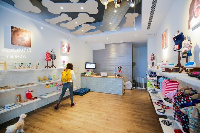 台中狗旅館-瑋特ㄚ狗生活館一樓寵物精品販售