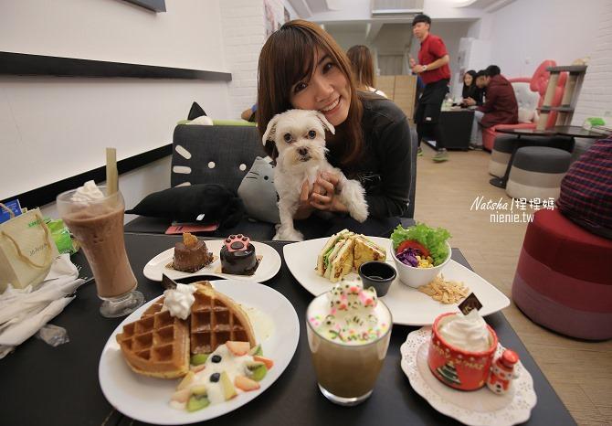 寵物友善餐廳│台中西區美食│咕嚕貓咖啡~超療育貓咪立體彩色拉花
