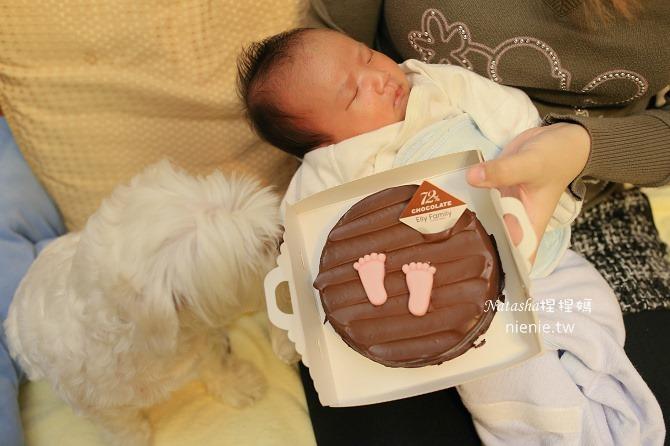 彌月蛋糕│艾立蛋糕~超高CP值的腳丫丫小熊蛋糕捲彌月蛋糕推薦34