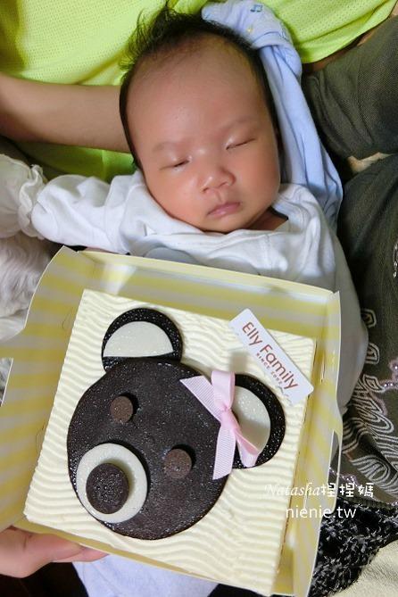 彌月蛋糕│艾立蛋糕~超高CP值的腳丫丫小熊蛋糕捲彌月蛋糕推薦58