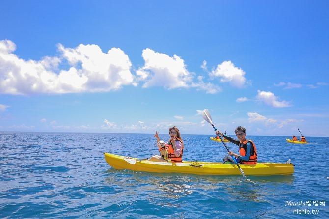 寵物旅遊│小琉球│和狗狗一起划獨木舟出海浮淺看海龜32