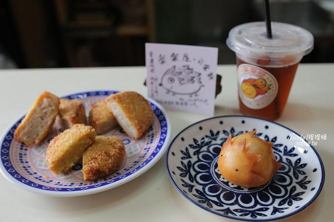 台南中西美食│樂樂屋可樂餅專賣店~全台南最好吃可樂餅及超可愛刺蝟包