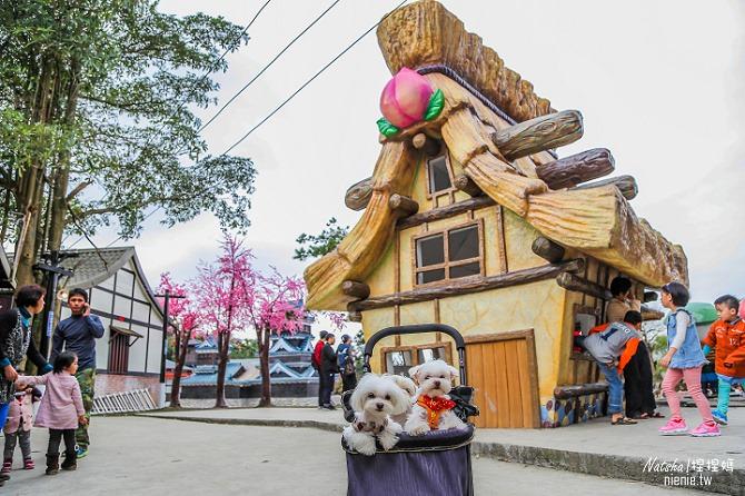 寵物旅遊│南投竹山新景點│桃太郎村~桃太郎故事背景的日式街景結合台灣復古建築102