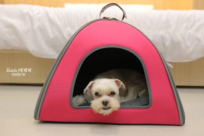 寵物外出包及寵物窩床推薦│ibiyaya~棉花糖寵物空氣包、寵物三角窩18