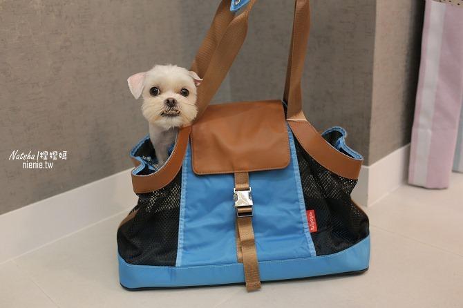 寵物外出包及寵物窩床推薦│ibiyaya~棉花糖寵物空氣包、寵物三角窩49