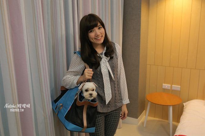 寵物外出包及寵物窩床推薦│ibiyaya~棉花糖寵物空氣包、寵物三角窩50