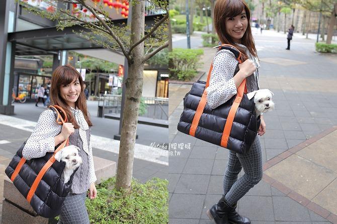 寵物外出包及寵物窩床推薦│ibiyaya~棉花糖寵物空氣包、寵物三角窩60