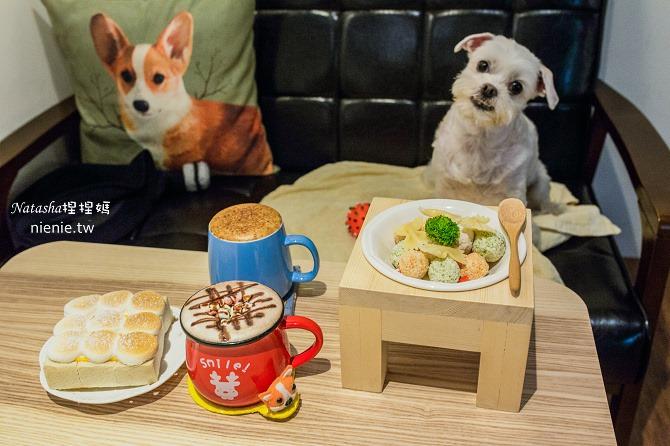 寵物餐廳│桃園中壢美食│mo² cafe~不強制牽繩且有提供寵物餐的寬敞明亮咖啡廳