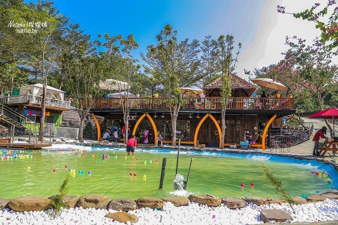 寵物餐廳│寵物游泳│台南關廟美食│森呼吸 Jorona Park~充滿彩色球的寵物專屬游泳池及露天咖啡廳06