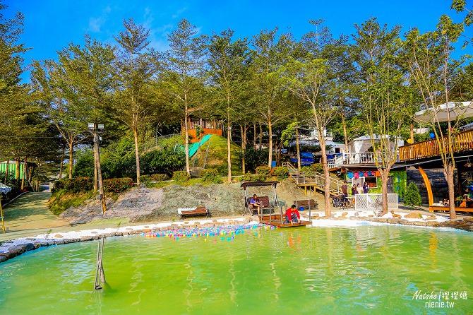寵物餐廳│寵物游泳│台南關廟美食│森呼吸 Jorona Park~充滿彩色球的寵物專屬游泳池及露天咖啡廳104