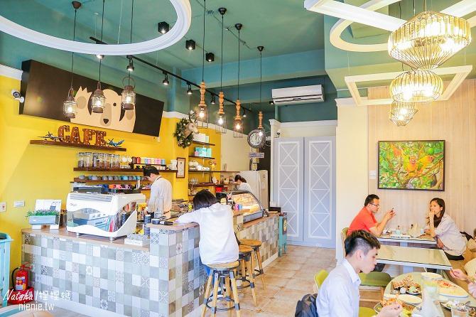 宜蘭美食│熊來了~自製手工甜點下午茶的可愛裝潢咖啡廳03