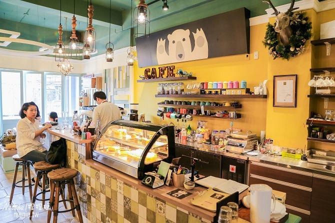 宜蘭美食│熊來了~自製手工甜點下午茶的可愛裝潢咖啡廳10