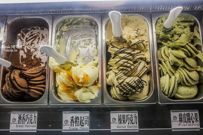 寵物友善│台南老街冰淇淋│綠皮開心果~孔廟美食義大利西西里島開心果製作的高檔冰淇淋推薦03