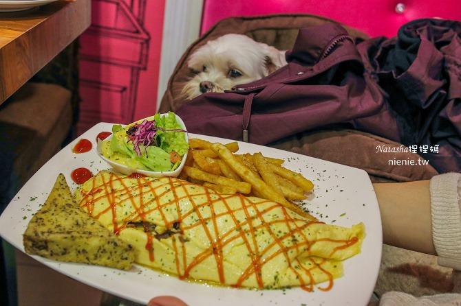 寵物友善餐廳│基隆美食│德瑞克的美嚷 Derek's Maison~躺在床上抱著大布偶享受大碗豐盛的異國料理22