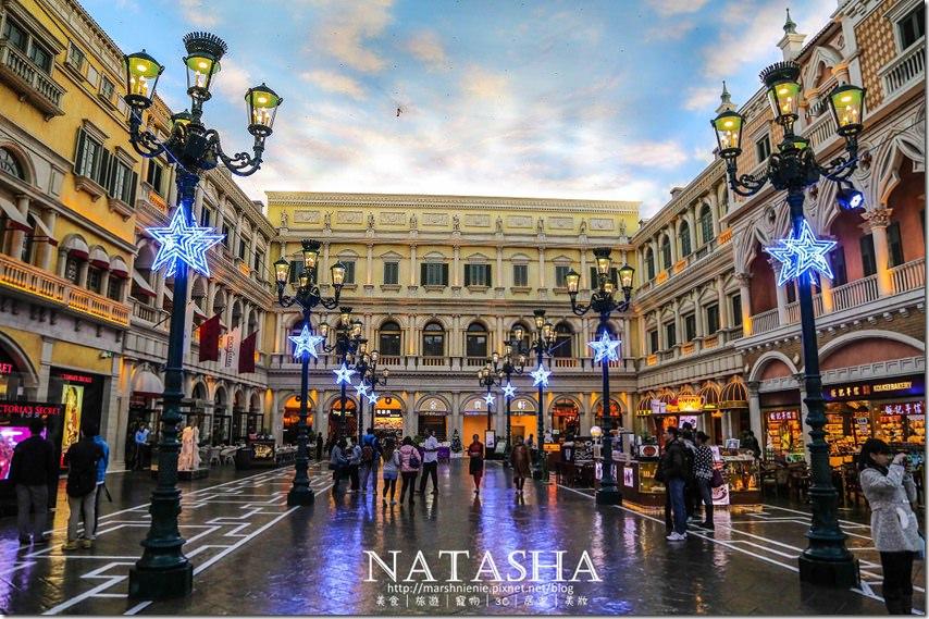 澳門住宿推薦 威尼斯人酒店~最多美食的酒店及亞洲最大的單幢式酒店